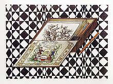Mary Faulconer, Pencil Box, Lithograph