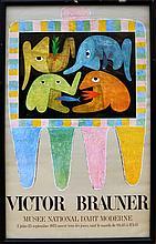 Victor Brauner, Musee D'Art Moderne, Poster