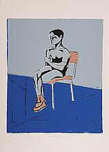 Biagio Civale, Young Model at School, Serigraph