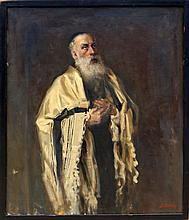 Samuel Mirsky, Rabbi, Oil Painting