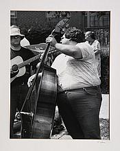 Theodore Cohen, Street Band (Upright Bass), Photograph
