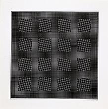 Ludwig Wilding, Squares, Lithograph