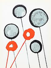 Alexander Calder, Lollipops from Derriere Le Miroir, Lithograph
