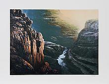 Jorge Braun Tarallo, Deep in the Canyon, Lithograph