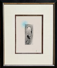 Joan Miro, Sans le Soleil, Heraclitus of Ephesus, Aquatint Etching