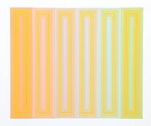 Richard Anuszkiewicz, Sun Keyed, Serigraph