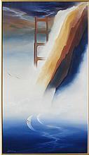 George Sumner, Sausalito, Oil Painting