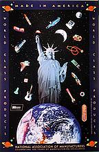 Peter Max, Made in America, Poster