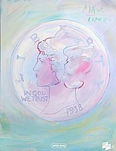 Peter Max, In God We Trust, Poster
