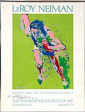 LeRoy Neiman, Indianapolis Museum of Art, Poster