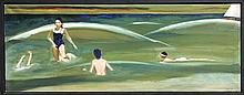John Hardy, Sand Bar, Oil Painting