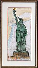 O. West, Statue of Liberty, Poster