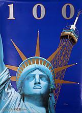 Razzia, Statue of Liberty - 100 Year Anniversary, Poster