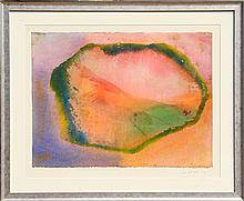 Jeff Hoare, Wave Cry Series #10, Watercolor Painting