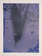 Hong Hao, Purple, Lithograph