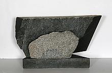 Dimitri Hadzi, Tiryns, Granite Sculpture