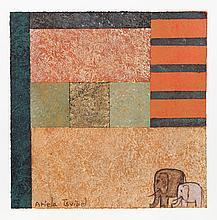 Ariela Tsvibel, Elephants 1, Silkscreen