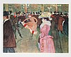 Henri de Toulouse-Lautrec, At the Moulin Rouge - The Dance, Lithograph