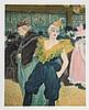 Henri de Toulouse-Lautrec, The Clownesse - Cha-U-Kao, Lithograph
