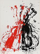 Arman, Violents Violin II, Serigraph