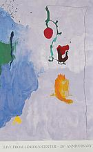 Helen Frankenthaler, Live from Lincoln Center, 20th Year, Lithograph Poster