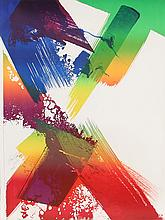 Paul Jenkins, Abstract Lithograph