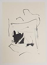Robert Motherwell, Octavio Paz, Three Poems 13, Lithograph with Chine Colle