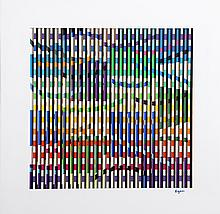 Yaacov Agam, Los Angeles Bicentennial Anniversary of Israel, 3-D Kinetic Multigraph