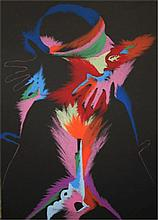 Marisol Escobar, Fire, Lithograph