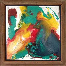 Sirena, Marbleization, Painting