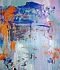 Francine Tint, Memory of Two Mondays, Oil Painting