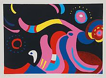 Kyohei Inukai, Flamboyant, Serigraph