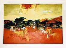 Joanne Miller Rafferty, Sedona No. 3, Mixed Media Painting