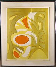 E. Schachmer, Rima, Color Lithograph