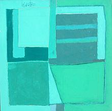 R. Weston, Green Print, Painting