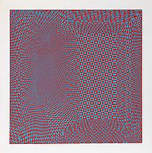 Roy Ahlgren, Spatial Concept I, Silkscreen