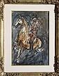 Charles Burdick, Horseman, Ink and Painting