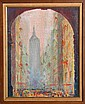 Miraglia, View through Archway, Oil Painting