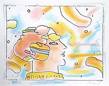 Peter Max, From Another Planet, Lithograph