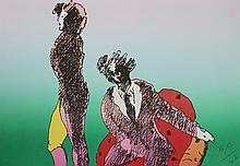 Peter Max, Across the Room, Lithograph