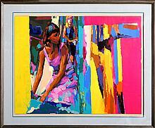 Nicola Simbari, Dressing Room, Serigraph