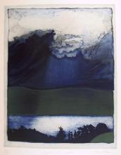 Pearl Rosen, Light on Loch from the Brooklyn College Women's Portfolio, Aquatint Etching