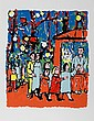 Lemsky, Balloon Stand, Serigraph