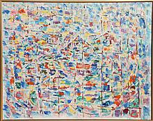 Julien Dinou, Au Dessus de l'Italie, Oil Painting