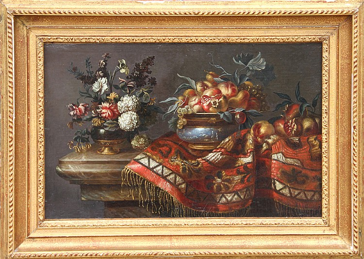 Italian Still Life, Oil Painting