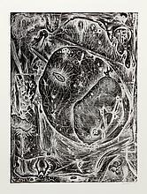 Alfonso Ossorio, Abstract 6, Etching