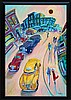 R.J. Hohimer, Taxi, Oil Painting, R J Hohimer, Click for value
