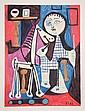 Pablo Picasso, Enfant avec Cheval a Toulettes, Lithograph