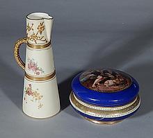 2 Porcelain items