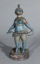 Charles Bragg cold painted bronze